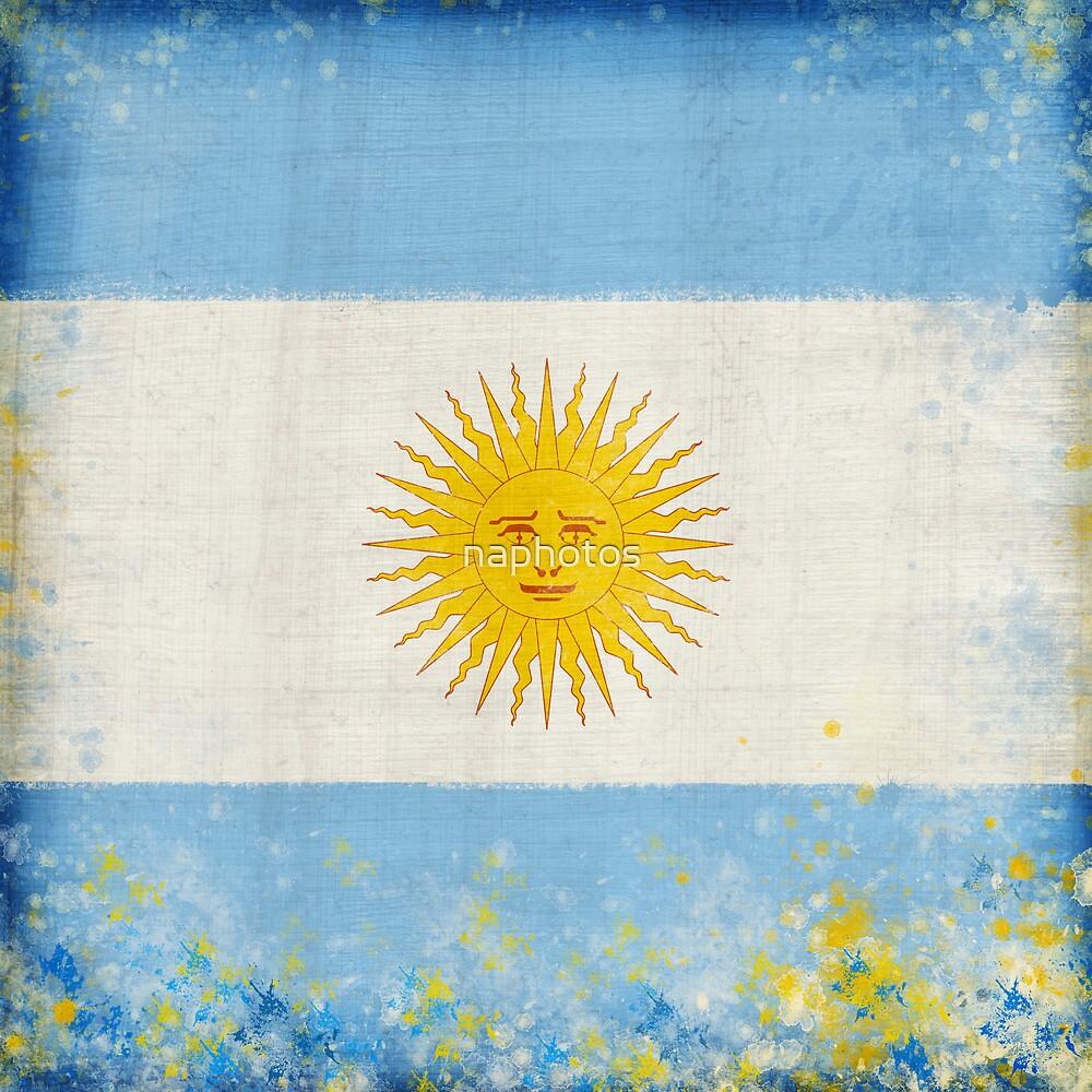 Argentina flag by naphotos