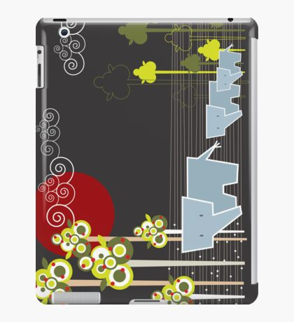 Ellephant Family In The Forest iPad Case/Skin