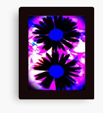 FUNKY IPHONE COVER - TWO DAISIES Canvas Print