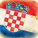 Croatia flag by naphotos