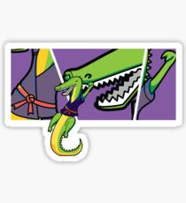 karate chomp 2 Sticker
