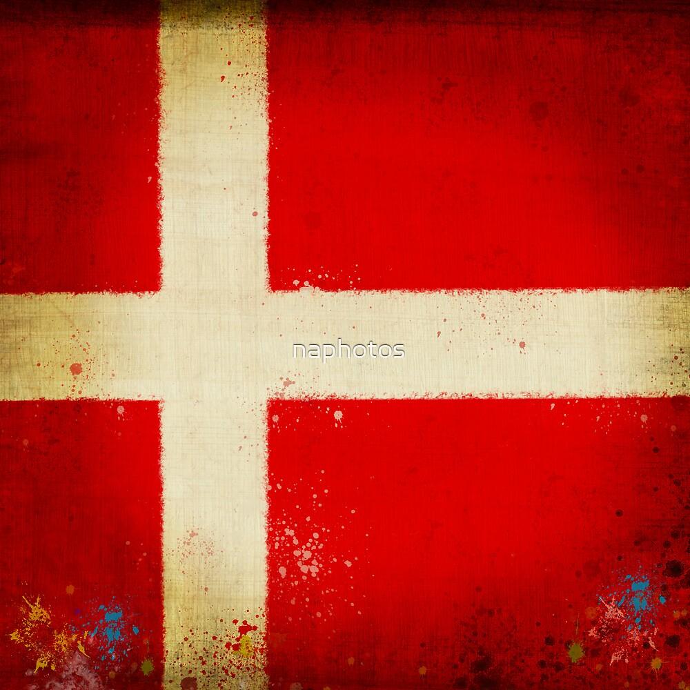 Denmark flag by naphotos