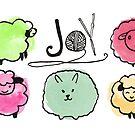 Joy knitting needles crochet hooks yarn sheep angora by BigMRanch