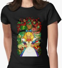 Hello Alice Womens Fitted T-Shirt