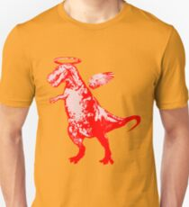 Angel Rex (red and pink) Unisex T-Shirt