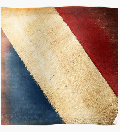 French flag Poster