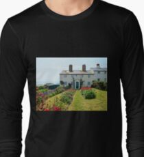 Cuckmere Cottages, East Sussex Long Sleeve T-Shirt