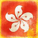 Hong Kong China flag by naphotos