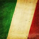 Italy flag by naphotos