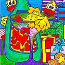 Champagne Quackers (iPad Case) by Sammy Nuttall