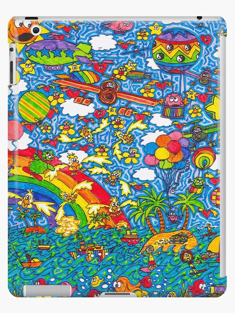 Flying High (iPad Case) by Sammy Nuttall