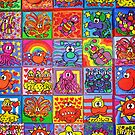 Collection Of Friends (iPad Case) by Sammy Nuttall