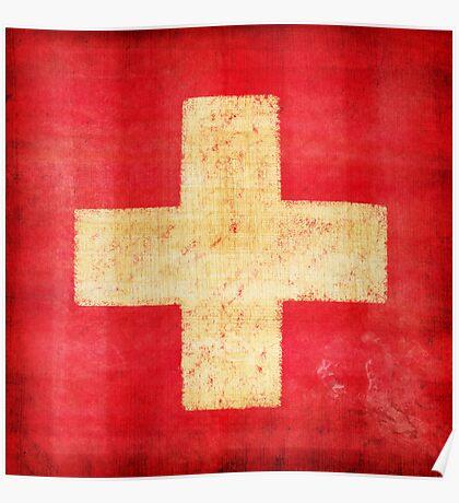 Switzerland flag Poster