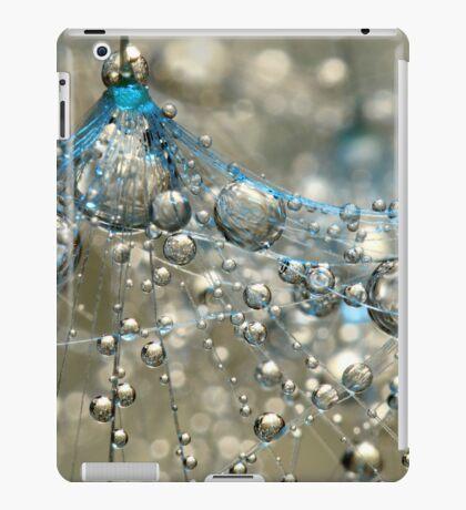 Cyan & Gold iPad Case/Skin