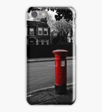 Post Box  iPhone Case/Skin