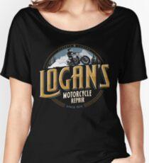 Logan's Motorcycle Repair Women's Relaxed Fit T-Shirt
