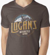 Logan's Motorcycle Repair Men's V-Neck T-Shirt