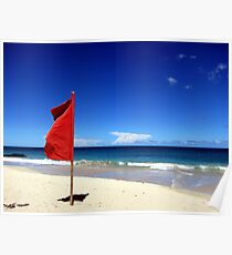 The Red Flag Poster