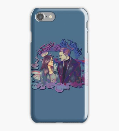 holmes and watson iPhone Case/Skin