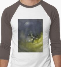 Stranded Space Craft Painting Men's Baseball ¾ T-Shirt
