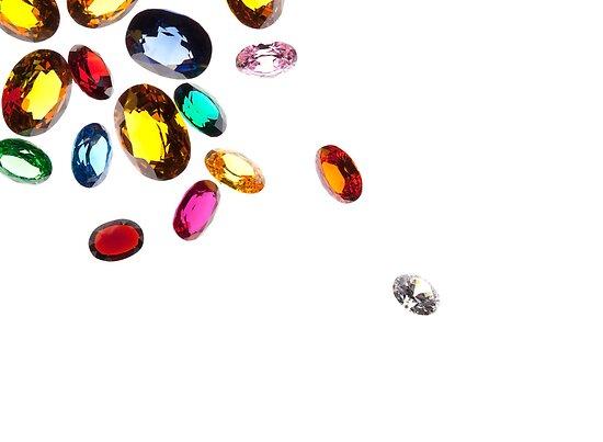 falling gems by naphotos