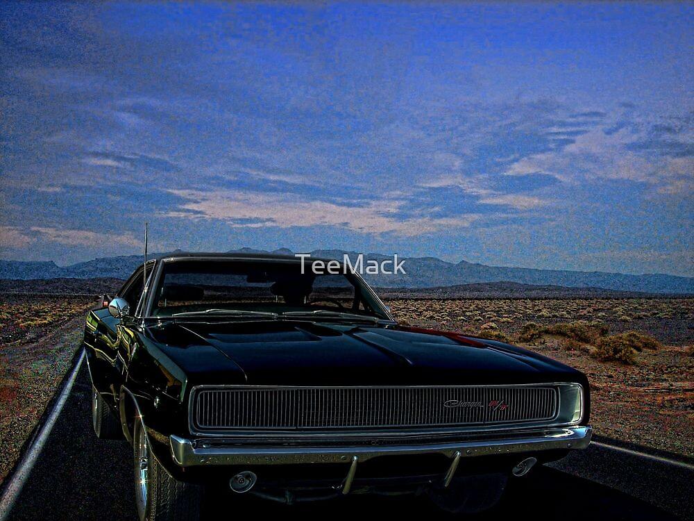 """1968 Dodge Charger  """"Bullitt"""" by TeeMack"""
