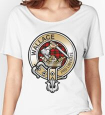 Wallace Clan Crest Women's Relaxed Fit T-Shirt