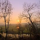 """Sunset at """"Pai"""" river by naphotos"""