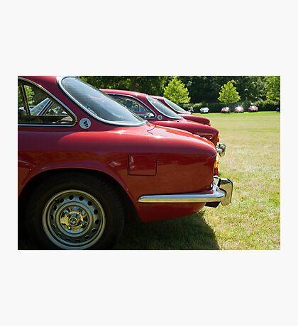 Alfa Romeo Giulia Sprints Photographic Print