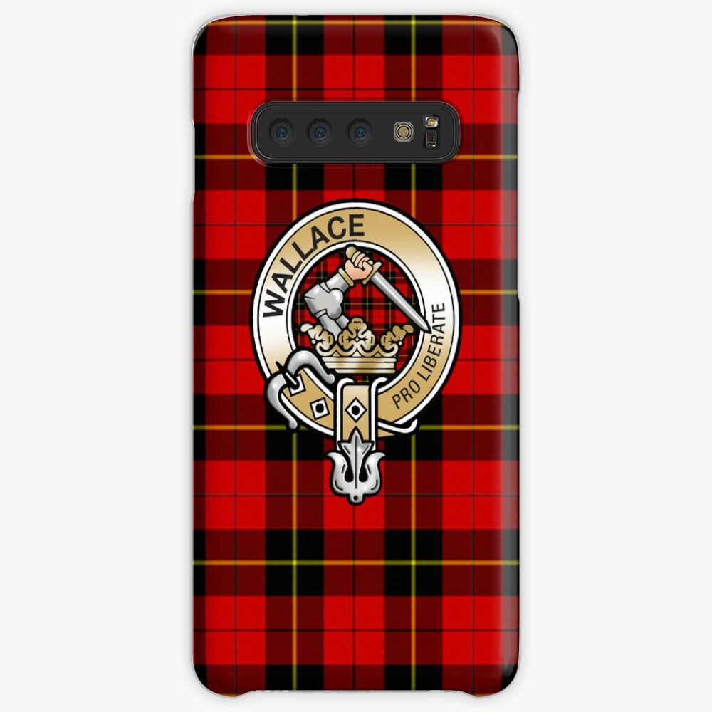 Wallace Clan Crest Hülle & Klebefolie für Samsung Galaxy