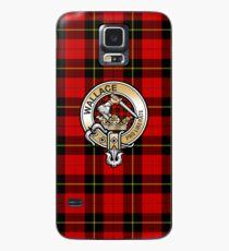 Wallace Clan Crest Case/Skin for Samsung Galaxy