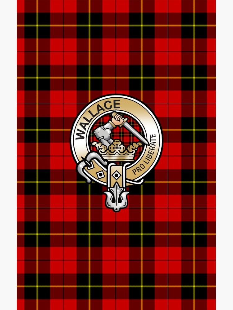 Wallace Clan Crest von eyemac24