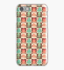 Cute Silly Octopus Pattern iPhone Case/Skin