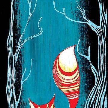 Woodland Fox by Sloosh