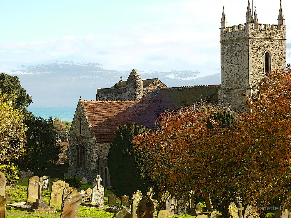 St. Leonard  Church . Hythe    /3 by Antoinette B