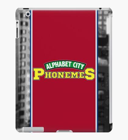 Alphabet City Phonemes iPad Case/Skin