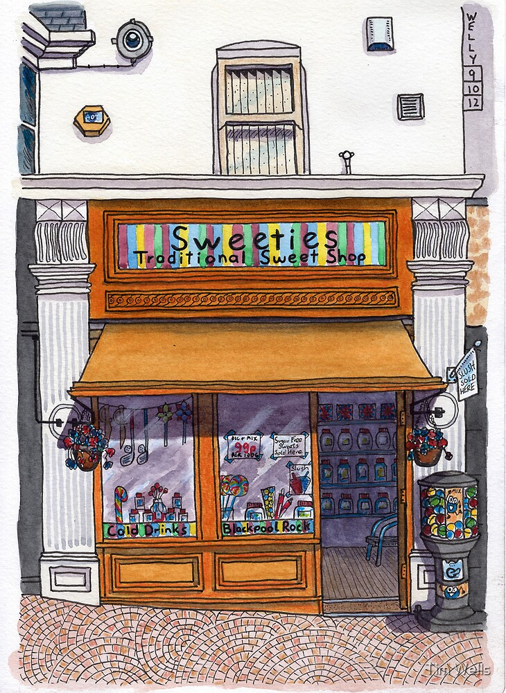 the sweetie shop by Tim Wells