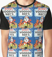 VOODOO RAY'S CEREAL BOX Graphic T-Shirt