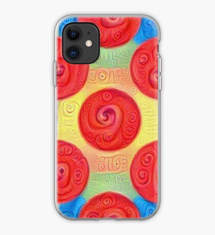 #DeepDream Color Squares and Circles Visual Areas 5x5K v1448272824 iPhone Case