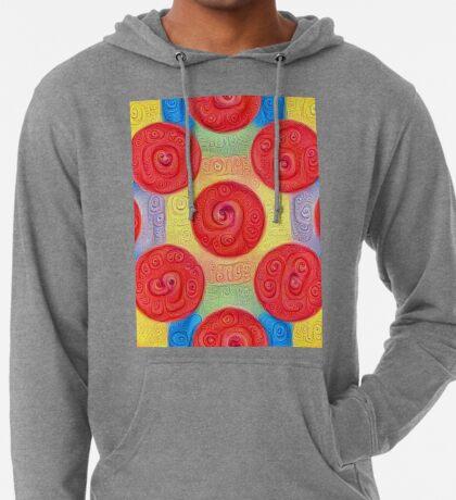 #DeepDream Color Squares and Circles Visual Areas 5x5K v1448272824 Lightweight Hoodie