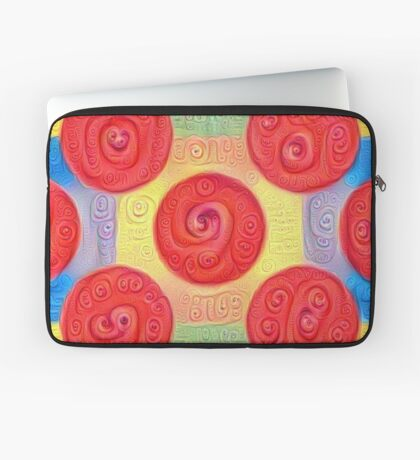 #DeepDream Color Squares and Circles Visual Areas 5x5K v1448272824 Laptop Sleeve