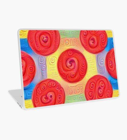 #DeepDream Color Squares and Circles Visual Areas 5x5K v1448272824 Laptop Skin