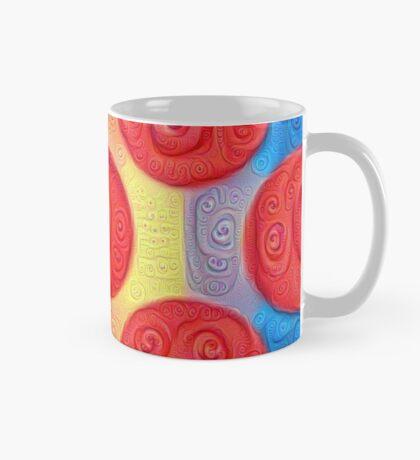 #DeepDream Color Squares and Circles Visual Areas 5x5K v1448272824 Mug
