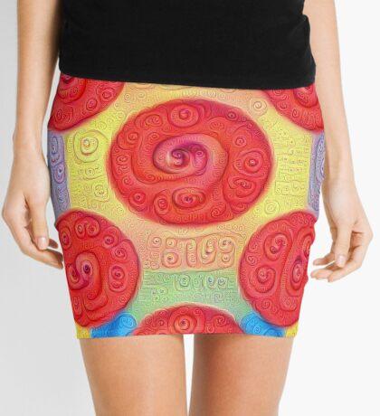 #DeepDream Color Squares and Circles Visual Areas 5x5K v1448272824 Mini Skirt