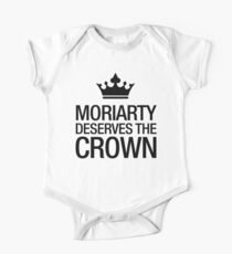 MORIARTY DESERVES THE CROWN (black type) One Piece - Short Sleeve