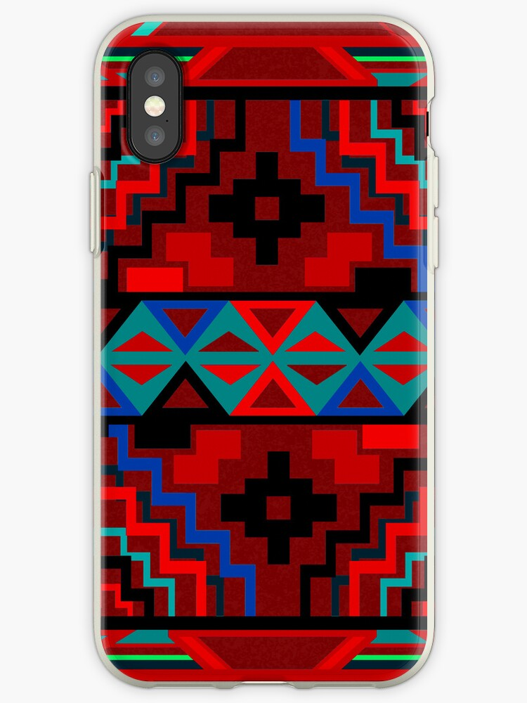 Aztec Pattern iPhone 5 Case / iPad Case / iPhone 4 Case by CroDesign