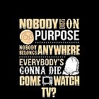 NOBODY EXISTS ON PURPOSE by Jimmy Fallon