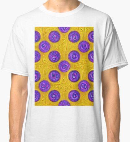 #DeepDream Color Squares and Circles Visual Areas 5x5K v1448281164 Classic T-Shirt