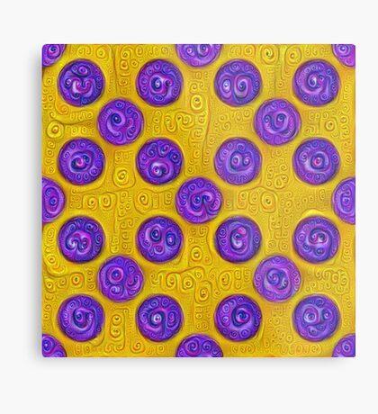 #DeepDream Color Squares and Circles Visual Areas 5x5K v1448281164 Metal Print
