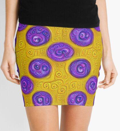 #DeepDream Color Squares and Circles Visual Areas 5x5K v1448281164 Mini Skirt